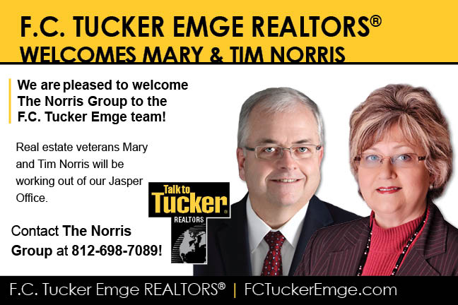 PLEASE WELCOME THE NORRIS GROUP TO THE F.C. TUCKER EMGE TEAM!