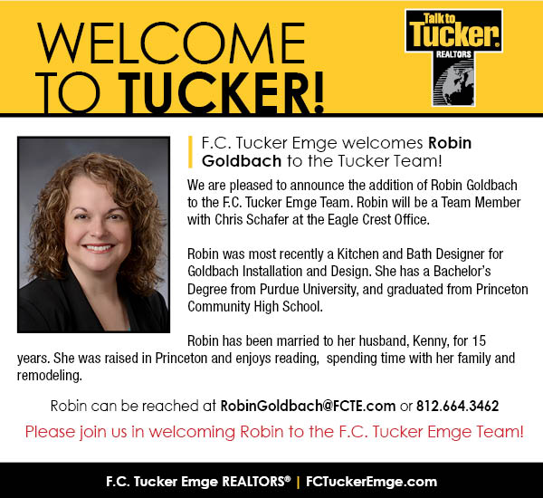 Please Welcome Robin Goldbach to the F.C. Tucker Emge Team!