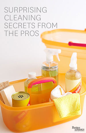 Cleaning Secrets from the Pros