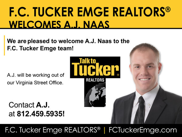Please Welcome A.J. Naas to the F.C. Tucker Emge Team!