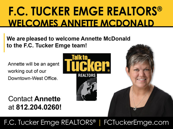 Please Welcome Annette McDonald to the Tucker Team!