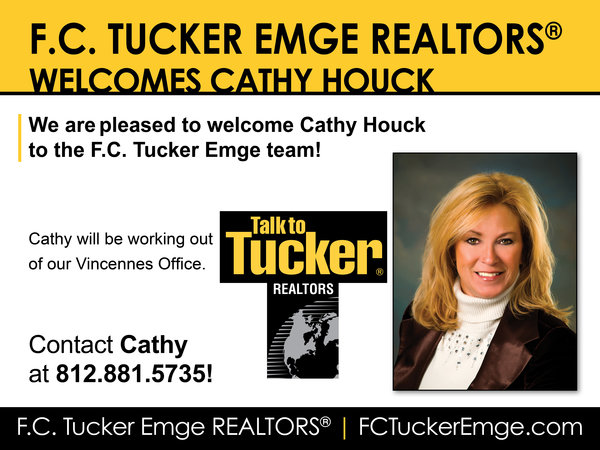 Please Welcome Cathy Houck to F.C. Tucker Emge!