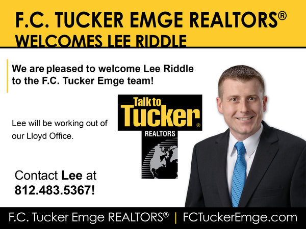Please Welcome Lee Riddle to the Tucker Team!