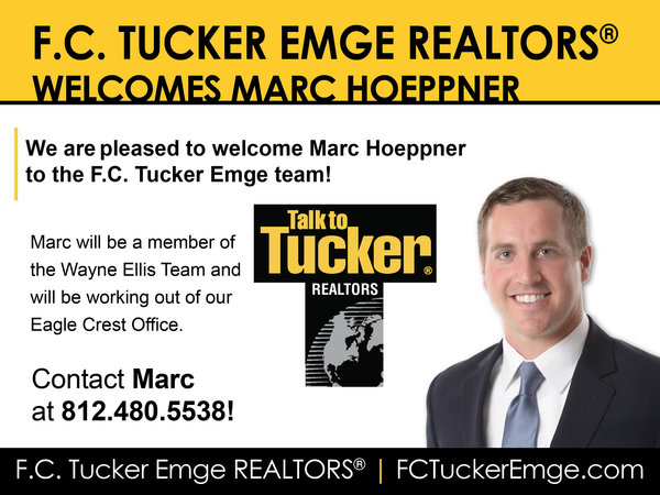 Please Welcome Marc Hoeppner to the Tucker Team!