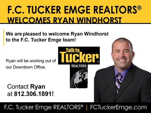 Please Welcome Ryan Windhorst to the Tucker Team!