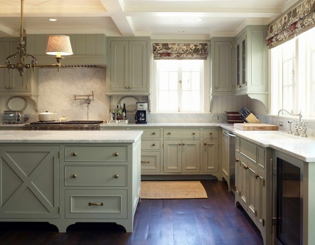 Kitchen cabinets painted grey