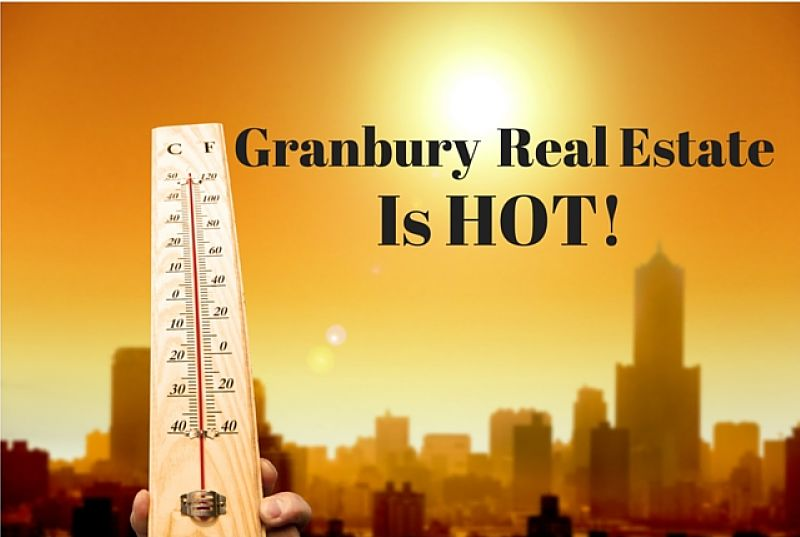 granbury real estate is hot