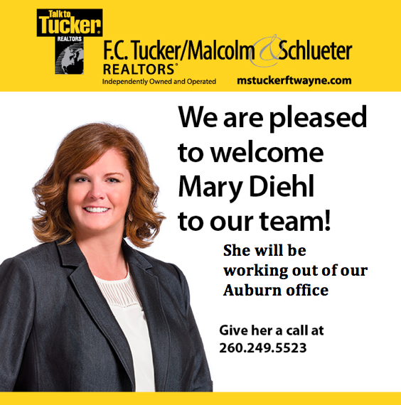 Please Welcome Mary Diehl