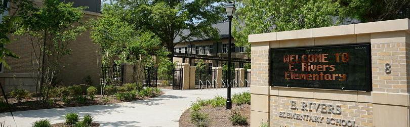 E Rivers Elementary School, Atlanta GA