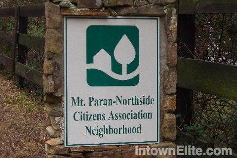 Mount Paran Atlanta homes for sale