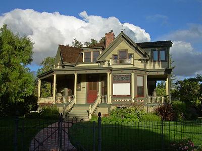 Victorian house Atlanta