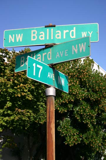 Ballard Way Seattle WA