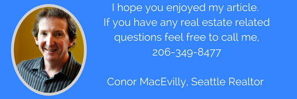 Contact information for Conor MacEvilly Seattle Realtor