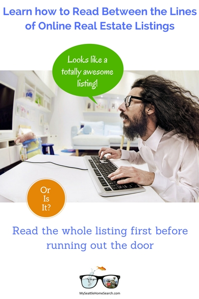 How to interpret online real estate listings