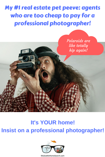 Cheap Realtors who refuse to pay for a professional photographer