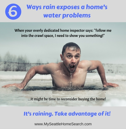 The 6 ways rain exposes a home's water problems