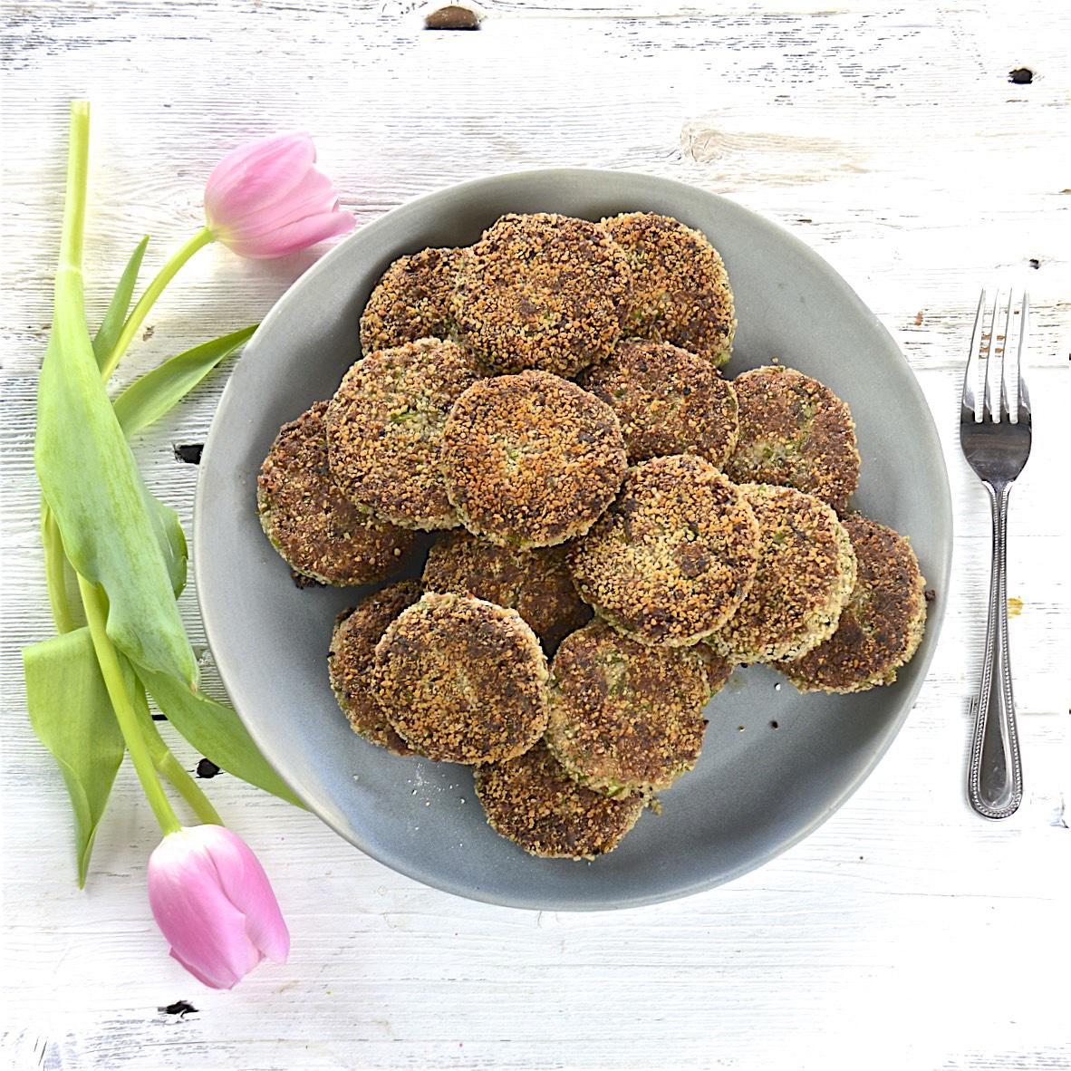 Dinas Protein Spiked Vegetarian Patties