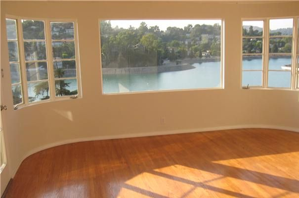 1957 Rockford Rd Silver Lake home has views of the Silver Lake Reservoir