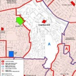 LAUSD Map of Ivanhoe School District in Silver Lake