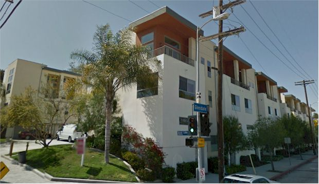 Mix Lofts are located at the corner of Silver Lake Blvd and Glendale Blvd in Silver Lake