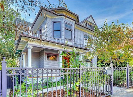 Angelino Heights Victorian with guesthouse