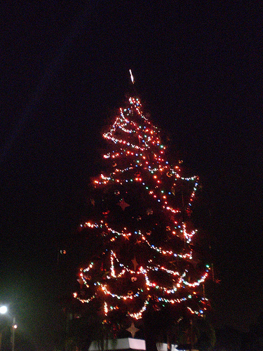 Atwater Village Christmas Tree
