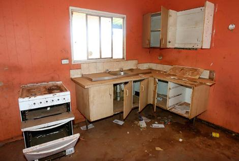Bank owned homes can be in terrible condition