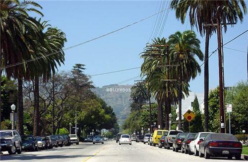Beachwood Canyon, Hollywood Hills, California