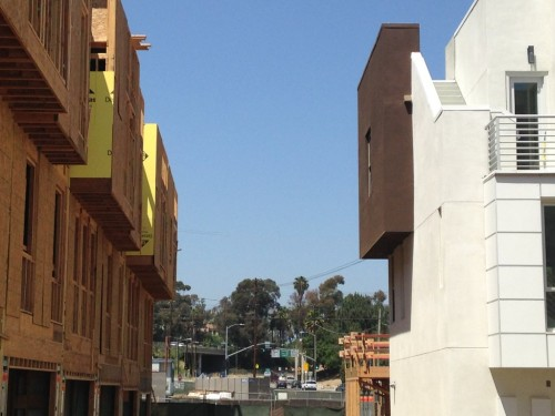SL70 homes on Glendale are almost completed. The ones behind them are still being built