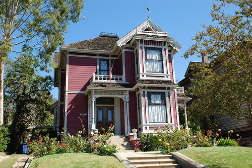 Angelino Heights- Victorian home