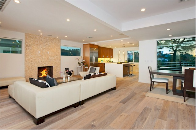 Silver Lake contemporary home with open floor plan