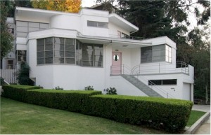 Skinner House Kesling streamline moderne Silver Lake home