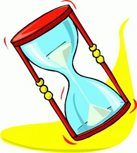 Time is of the essence during the escrow process