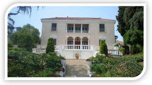 An example of the Mediterranean architecture you'll find in Whitley Heights