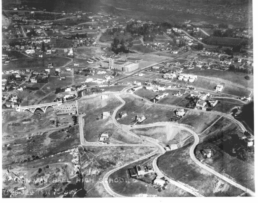 Franklin Hills area of Los Feliz in the 1920's