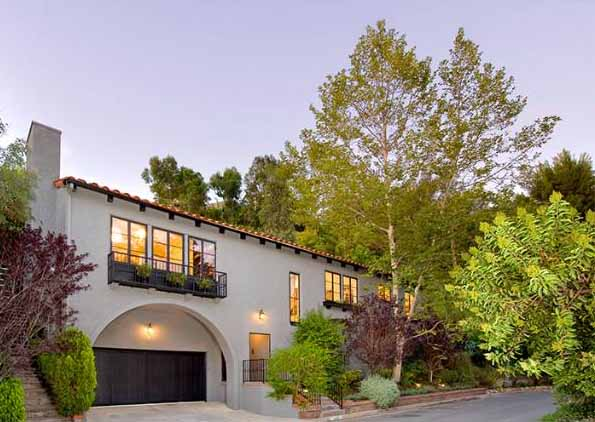 Christina Ricci's house in the Hollywood Hills