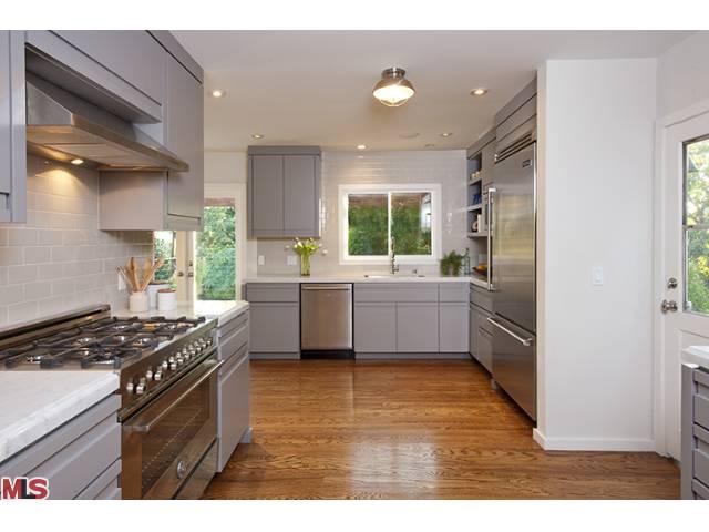 Mid Century Los Feliz flip re imagined kitchen