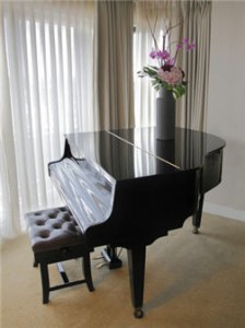 Does your new Los Angeles area home need room for a grand piano?