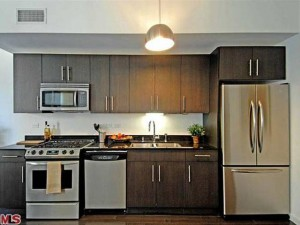 kitchens in the sunset silver lake lofts have stainless steel appliances