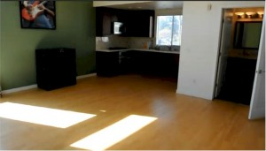 Mix lofts live work lofts in Silver Lake have the kitchen and full bath on the second floor