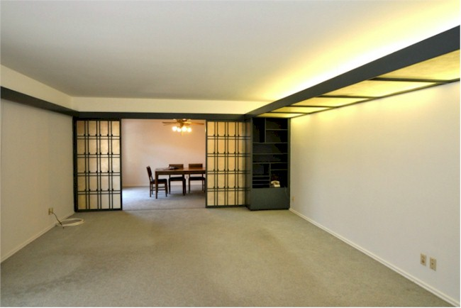 open living spaces in this Silver Lake mid century blank canvas