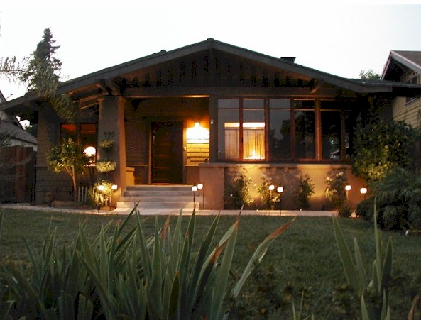 Pasadena has a very large collection of historic craftsman homes