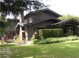 California craftsman home in pasadena