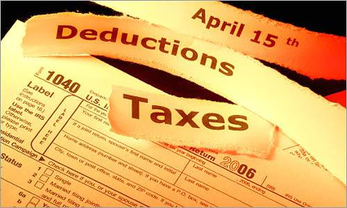Tax deductions from owning a home
