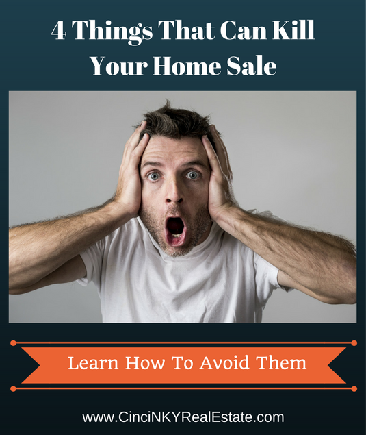 4 things that can kill your home sale