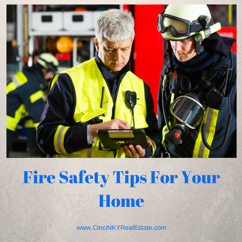 fire safety tips for your home picture of firefighters