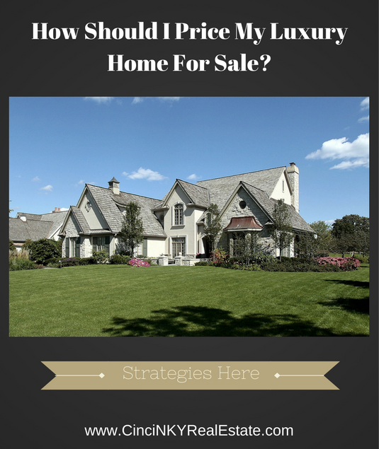 how to price luxury home for sale