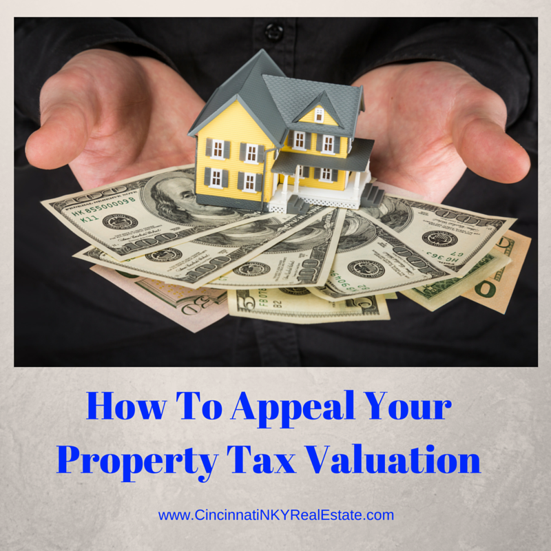 how to appeal your property tax valuation picture of house on top of money