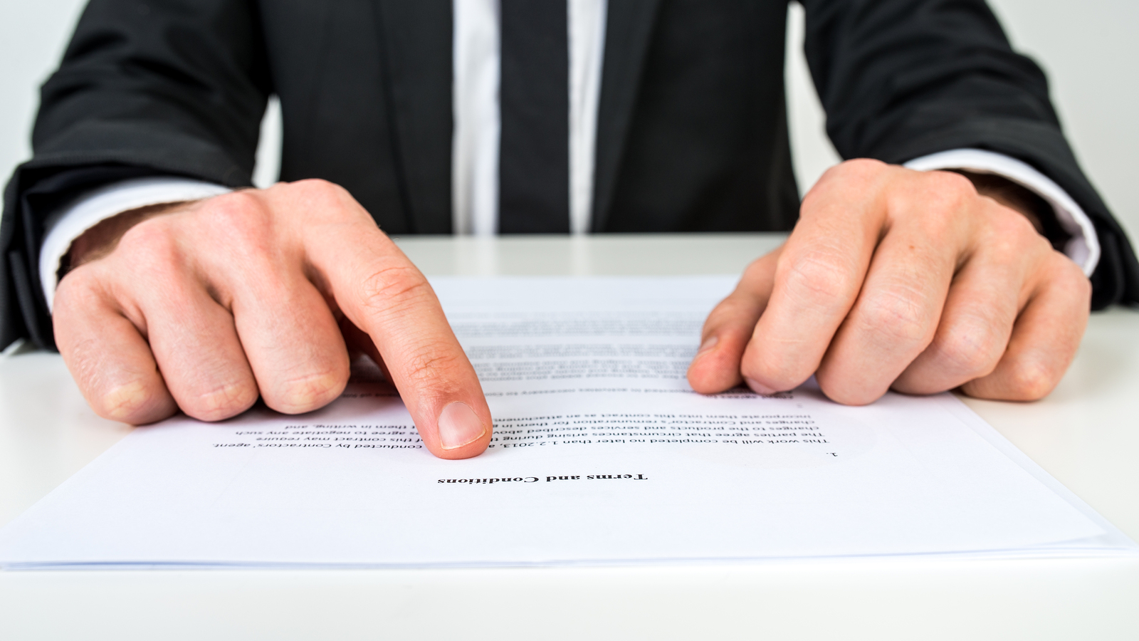 explaining terms and conditions of a real estate contract