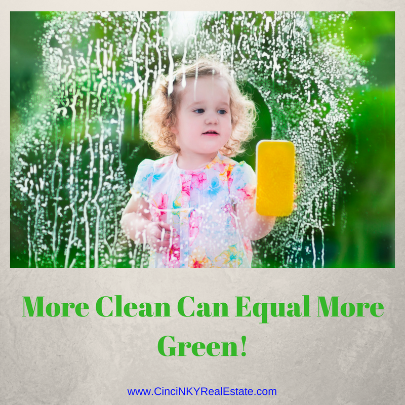 more cleanliness can mean more value for your home